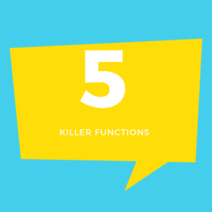 5 Killer Features